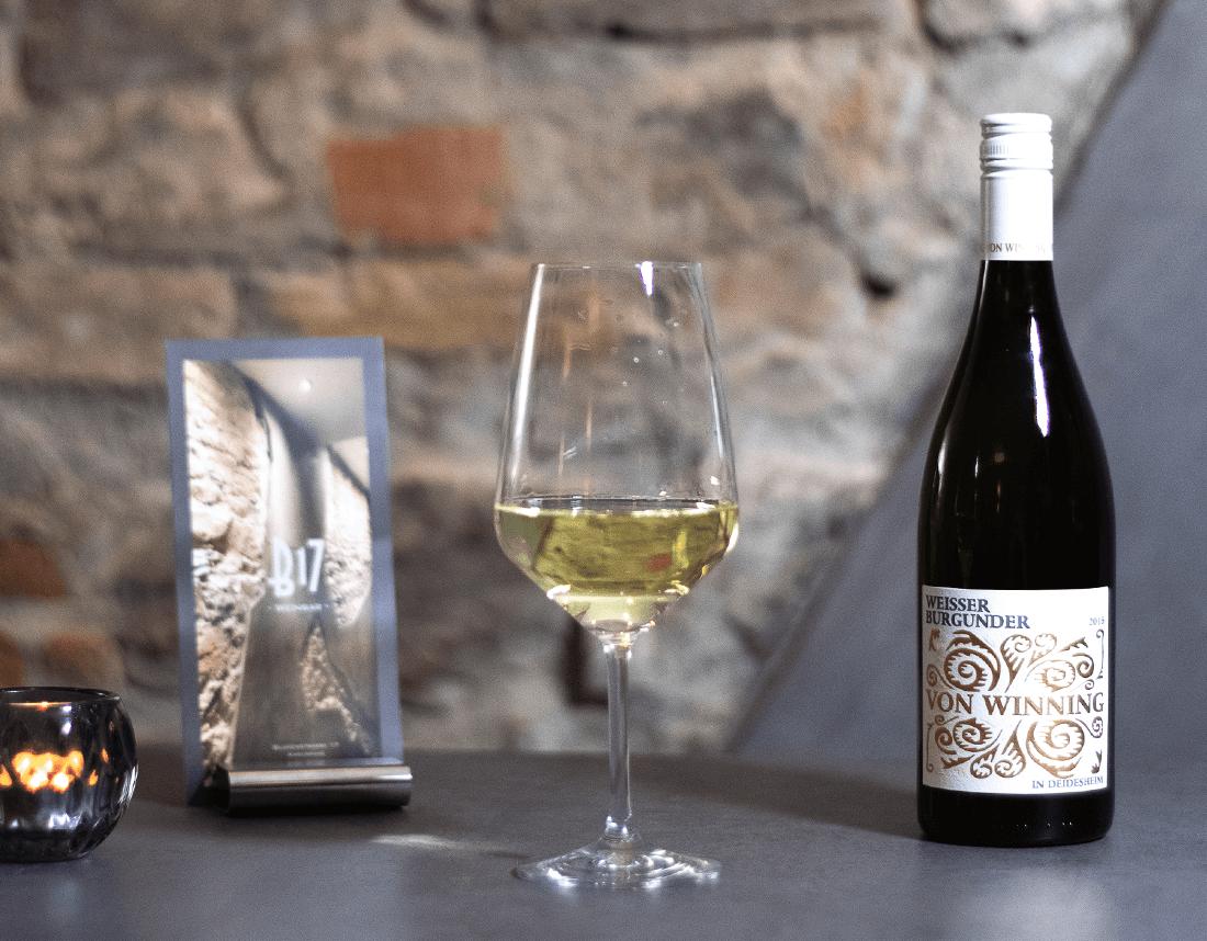 Weisser Burgunder von Winning 2016 Weißwein